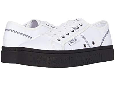 Versace Jeans Couture Brick Low Top Sneaker (White) Men
