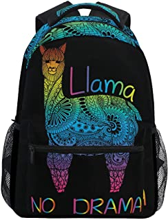 ALAZA Stylish Large Backpack Personalized Laptop iPad Tablet Travel School Bag with Multiple Pockets