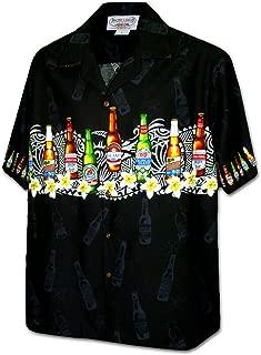 Pacific Legend Beer Men's Fun Hawaiian Shirt
