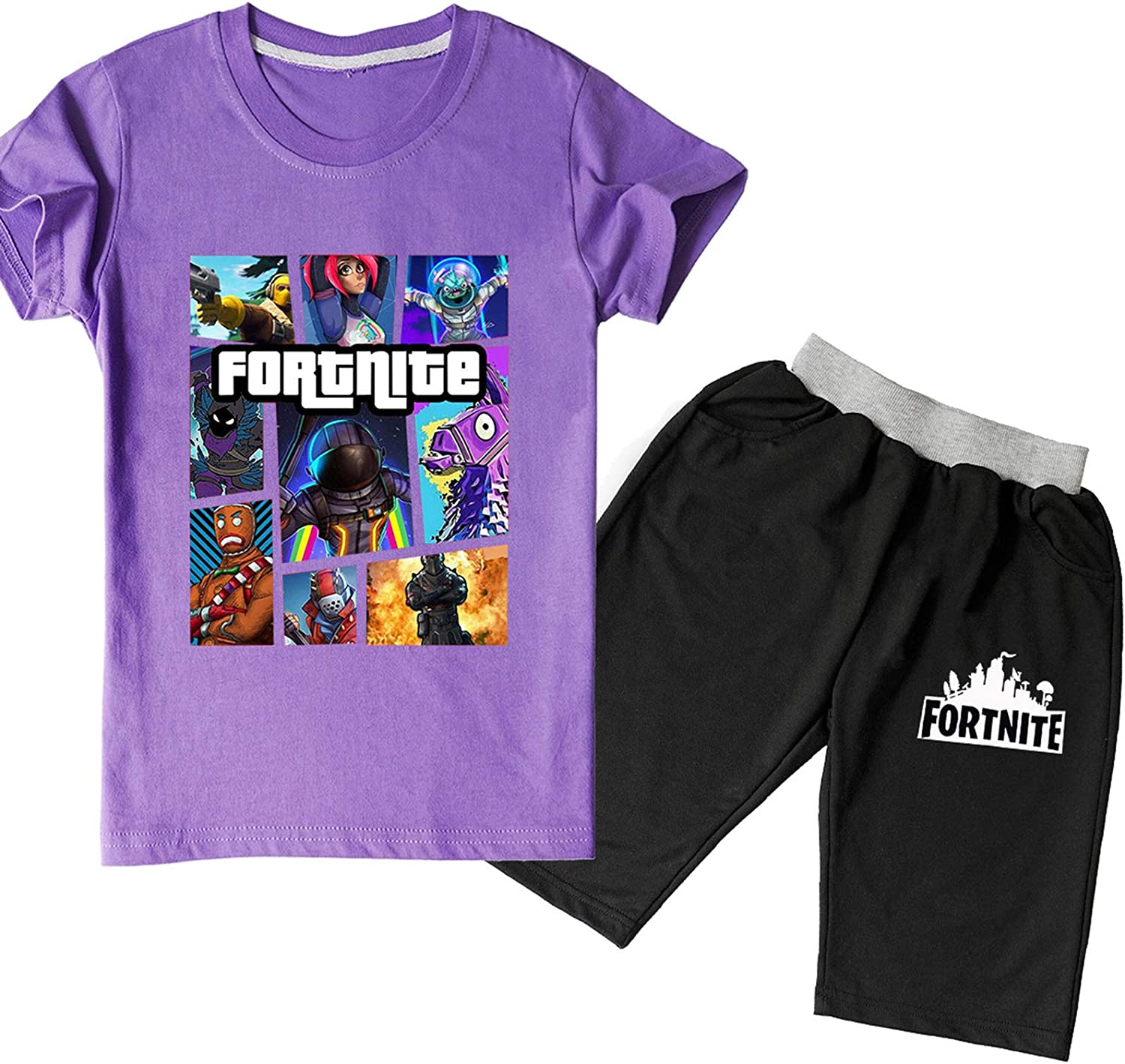 Battle Royale Game Logo Brand new Collage Boys New mail order Bo and T-Shirt Girls Cotton