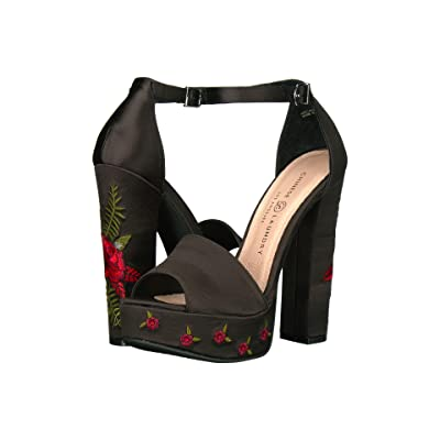 Chinese Laundry Amy (Black Satin) High Heels