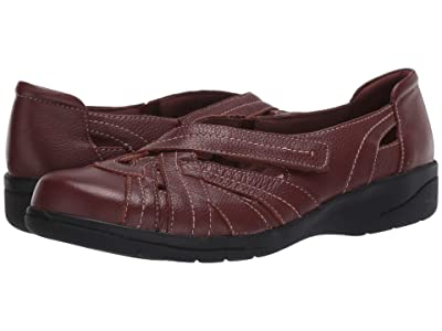 Clarks Cheyn Tulip (Mahogany Leather) Women