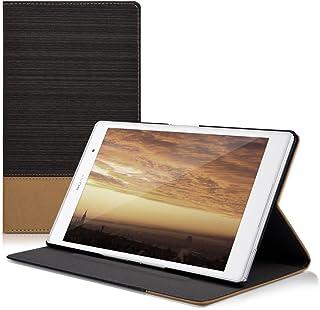 kwmobile 対応: Sony Xperia Tablet Z3 Compact ケース - タブレットカバー スタンド付き ファブリック ソニー エクスペリア タブレット