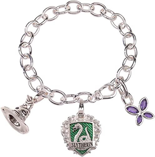 Mercancía de alta calidad y servicio conveniente y honesto. Noble Noble Noble Collection nn7710 Harry Potter pulsera Cuervo Lumos serpeverde  Envío y cambio gratis.