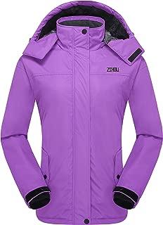 Women's Mountain Waterproof Fleece Ski Jacket Snowboard Windproof Insulated Jacket