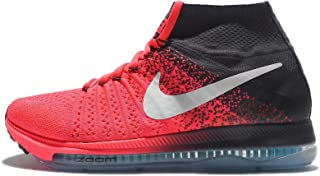 Nike Women's Wmns Zoom All Out Flyknit, HOT PUNCH/WHITE-ANTHRACITE