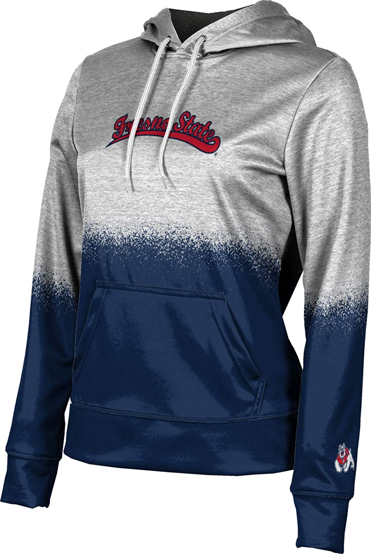 ProSphere Fresno State University Girls' Pullover Hoodie, School Spirit Sweatshirt (Spray Over)