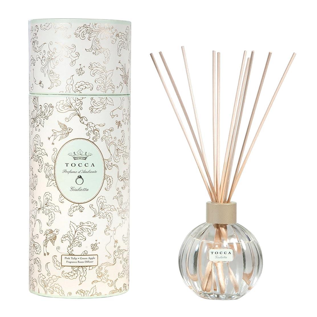 会議フィールドアジャトッカ(TOCCA) リードディフューザー ジュリエッタの香り 175ml 3~4ヶ月持続(芳香剤 ルームフレグランス ピンクチューリップとグリーンアップルの爽やかで甘い香り)