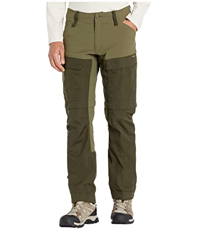 Fjallraven Keb Gaiter Trousers (Deep Forest/Laurel Green) Men