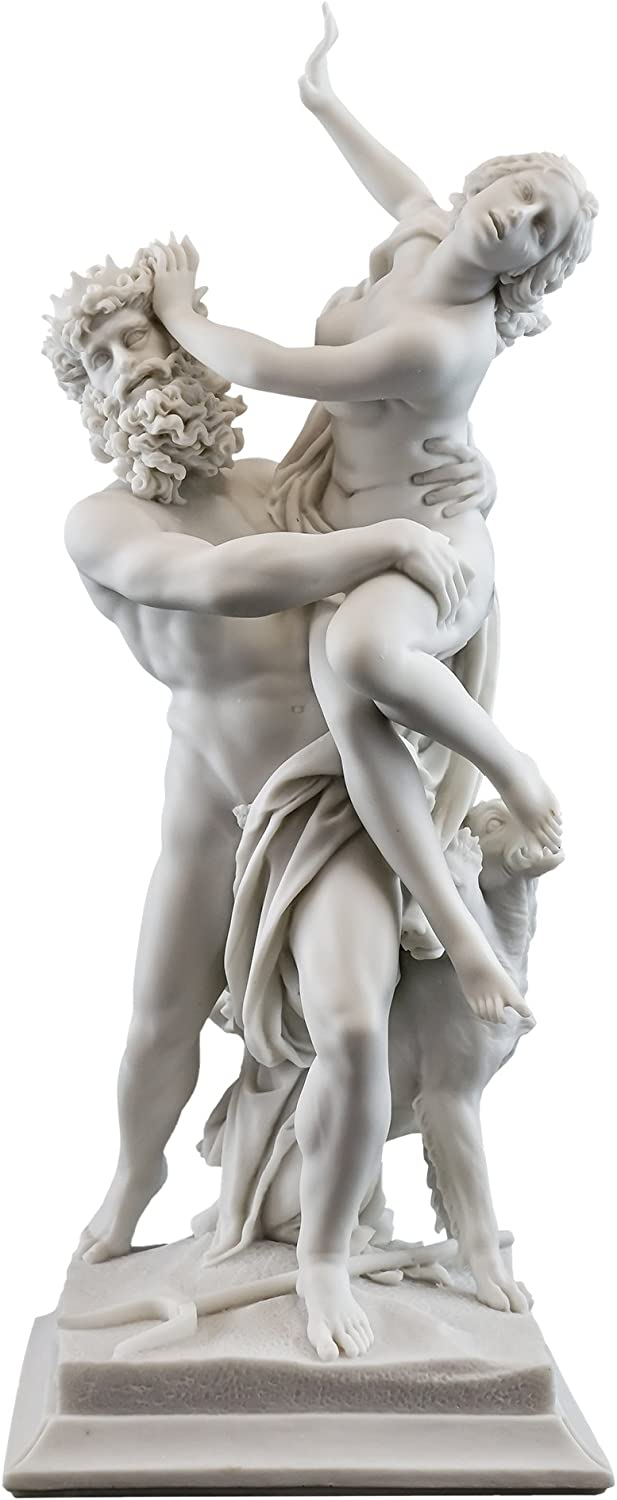 Cheap mail order Over item handling specialty store Top Collection 14-Inch Greek God Statue Proserpina by and Pluto