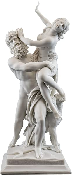 Top Collection 14 Inch Greek God Pluto And Proserpina Statue By Gian Lorenzo Bernini 1598 1680 Premium Cold Cast Marble Museum Grade Masterpiece Replica
