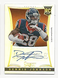 2013 Select Rookie Autographs Prizm Dennis Johnson #179 NM Near Mint RC Rookie Auto 46/199
