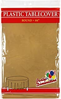 Best gold round table covers Reviews