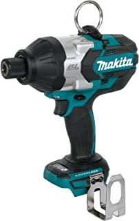 """Makita XWT09Z LXT Lithium-Ion Brushless Cordless High Torque Hex Impact Wrench, 18V/7/16"""""""