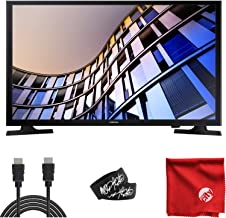 $209 » Samsung 32-Inch Class LED M4500 Series 720p HD Flat Smart TV (UN32M4500BFXZA) Built-in USB, HDMI, Dolby Digital Plus Sound, Wi-Fi Bundle with High Speed 6-Foot HDMI Cable and Accessories (4 Items)