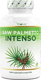 Saw Palmetto extract - 180 capsules met 500 mg extract - Premium: 5% fytosterol = 25 mg - hooggedoseerd zaag/almextract - ...