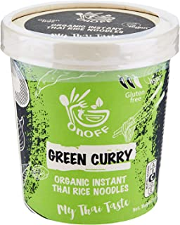 ONOFF Green Curry Instant Noodles, 75 gm