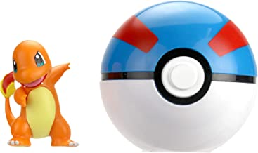 Pokémon Clip 'N' Go - Charmander & Great Ball