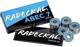 RADECKAL Blue ABEC 7 Skateboard Bearings, Skateboards, Longboards, Cruisers, Inline Skates, Roller Skates, Pre-Lubricated,...