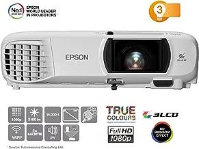 """Epson EH-TW650   Proyector Home Cinema Full HD 1080p con Wi-Fi   3100 lúmenes   Contraste 15.000:1   Lámpara Larga Duración 7500 horas   Pantalla Hasta 300""""   Tecnología 3LCD"""