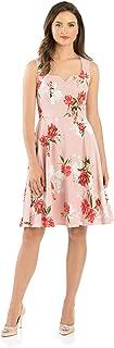 Review Women's Aurora Garden Dress Blush/Multi