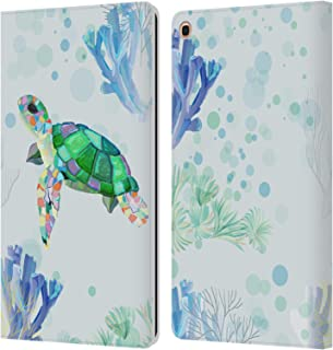 Official Turnowsky Turtle Animals 2 Leather Book Wallet Case Cover Compatible for Samsung Galaxy Tab A 10.1 2019