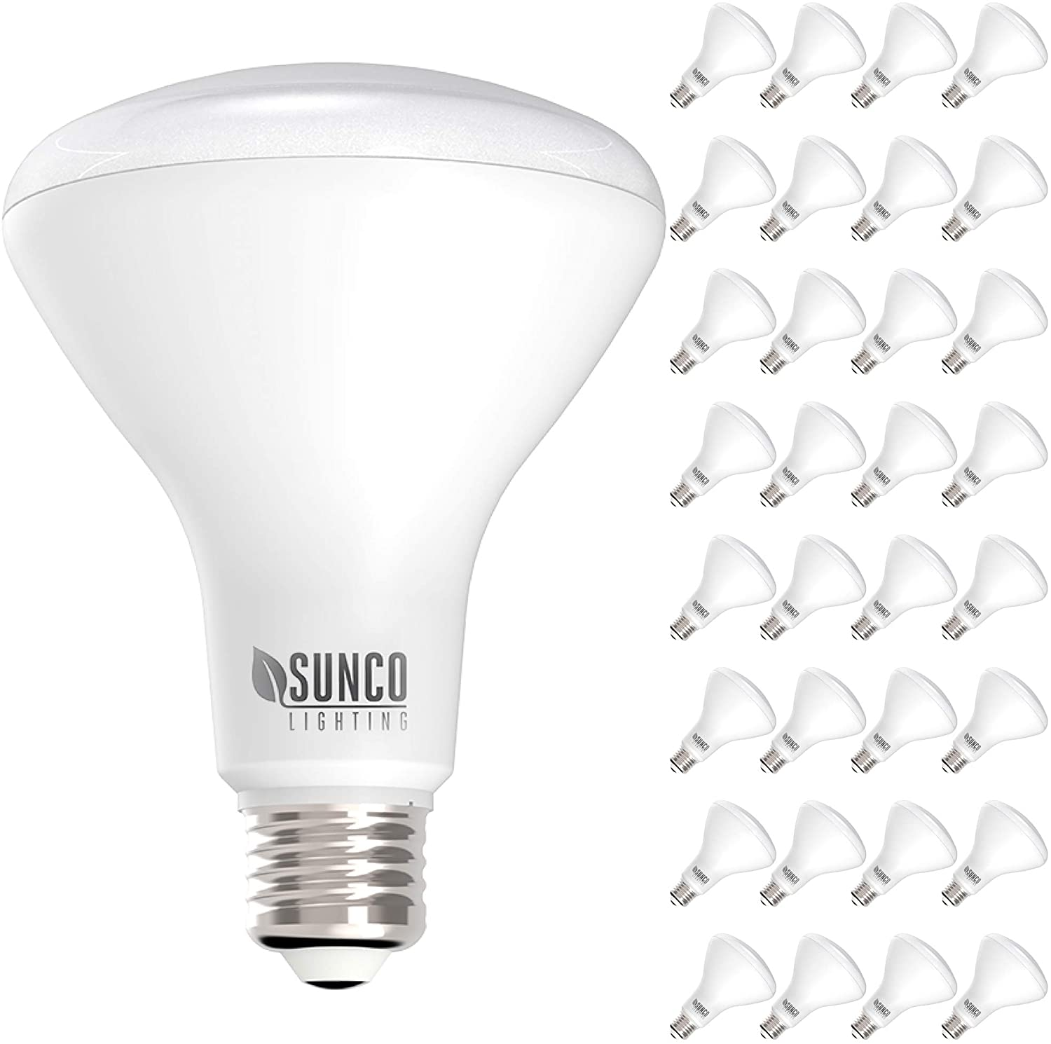 Sunco Lighting 32 Pack BR30 LED Bulb Max 76% OFF Daylight 85 11W=65W 5000K Indianapolis Mall
