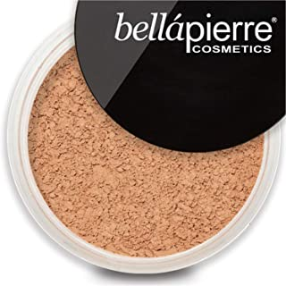 bellapierre Mineral Foundation SPF 15 Loose Finishing Powder | All-Natural Vegan & Cruelty Free Full Coverage Concealer | ...