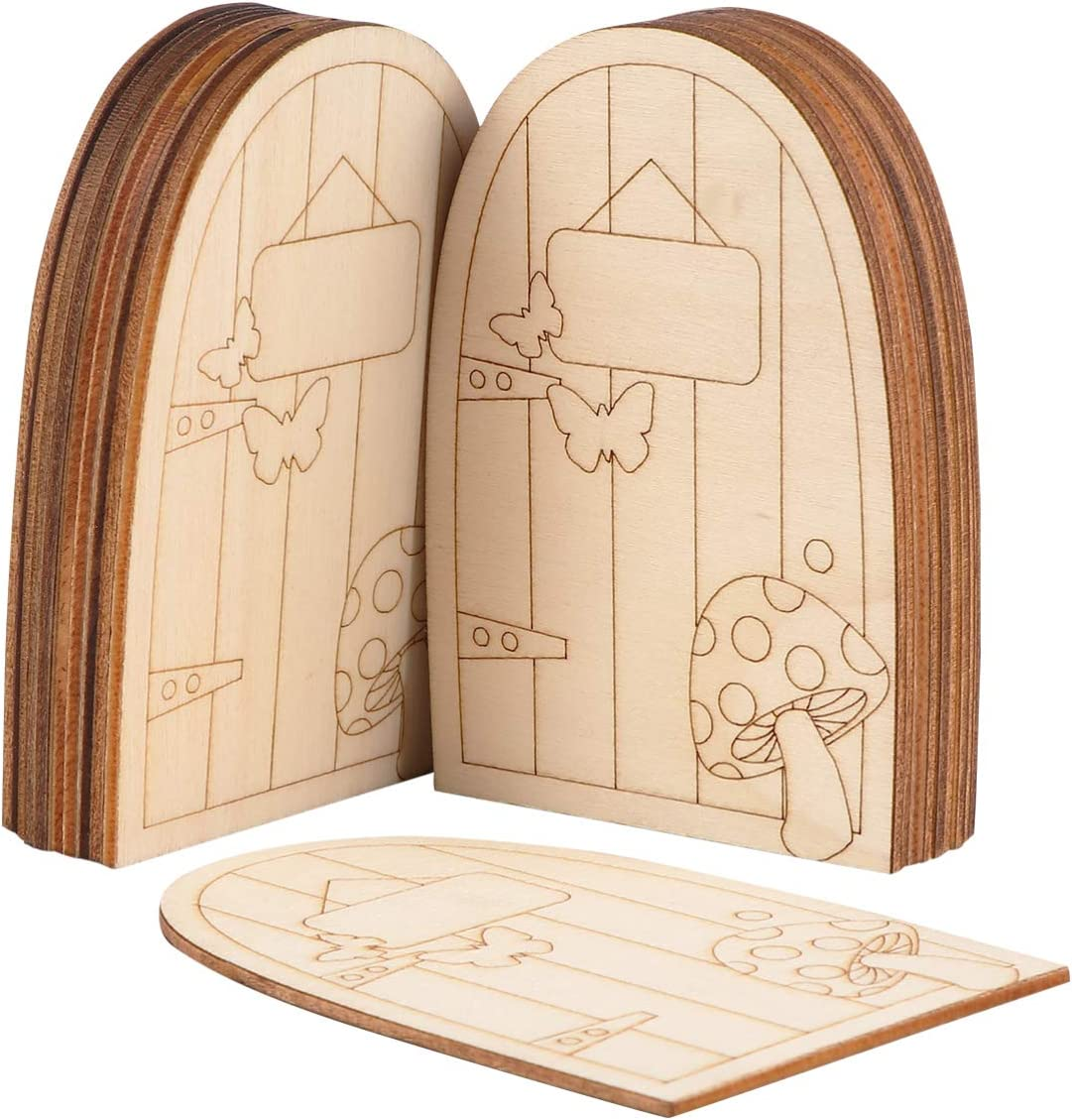 DOITOOL 20 pcs Mini Furniture Miniature Wooden A surprise price is realized Max 45% OFF Door