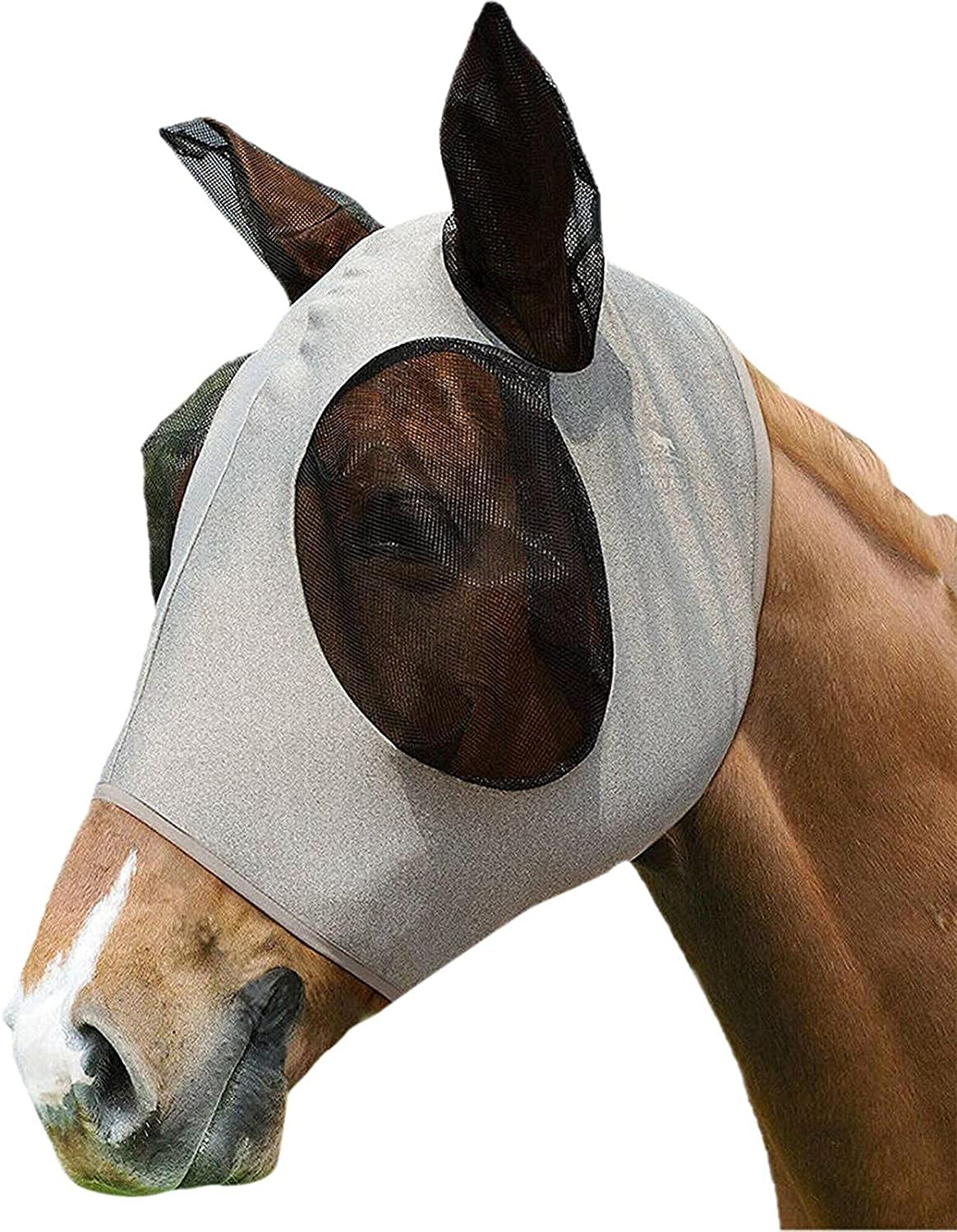 WHkeji Comfort Horse shopping Fly Max 64% OFF Mask with Smooth El and Ears