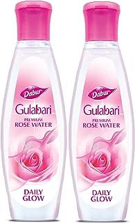 Dabur Gulabari Rose Water, 250ml (Pack of 2)