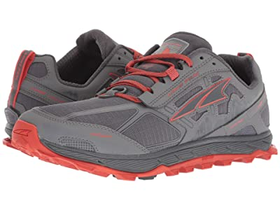 Altra Footwear Lone Peak 4 (Gray/Orange) Men