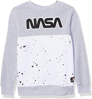 سويت شيرت صوف من مجموعة NASA للأولاد من Southpole (بغطاء للرأس، رقبة دائرية) مجموعة ناسا من الصوف (بغطاء رأس، رقبة دائرية)