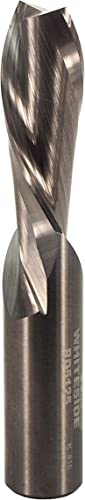 popular Whiteside wholesale Router Bits RD5125 Standard Spiral Bit with Down Cut Solid Carbide 1/2-Inch Cutting sale Diameter and 1-1/4-Inch Cutting Length outlet online sale