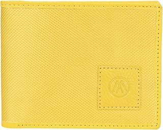 MarkQues Yellow Tetoron Men's Wallet (MR-4411)
