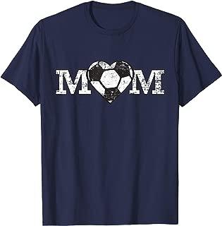 Soccer Mom Heart Simple Fan Gift T-Shirt