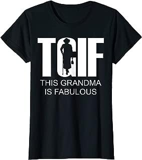 Best this grandma is fabulous t shirt Reviews