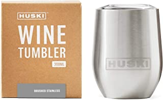 Huski Wine Tumbler (Brushed Stainless)