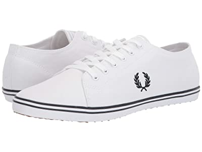 Fred Perry Kingston Twill (White/Navy) Men