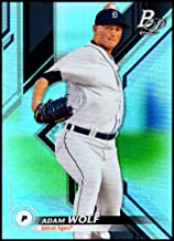 2019 Bowman Platinum Top Prospects Baseball #TOP-51 Adam Wolf Detroit Tigers Official Retail Exclusive Trading Card From Topps