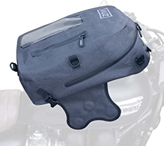 Vuz Moto Dry Motorcylce Tank Bag Backpack, Premium Waterproof Backpack and Magnetic Motor-Bike Tank Bag, 22-Liters