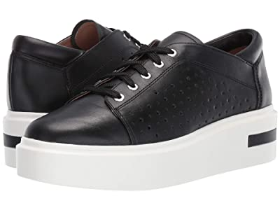 LINEA Paolo Kendra Sneaker (Black Leather) Women