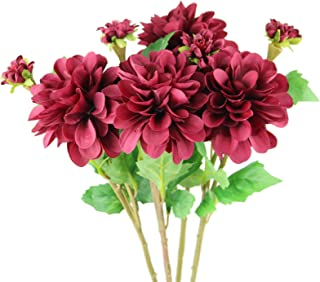 Best red fake flowers Reviews