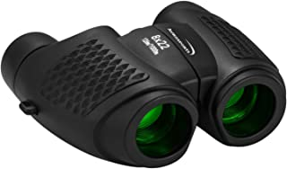 Aurosports Kids Auto Focus Binoculars with High Resolution, Shockproof 8x22 Binoculars Safe for Children, Christmas Birthd...