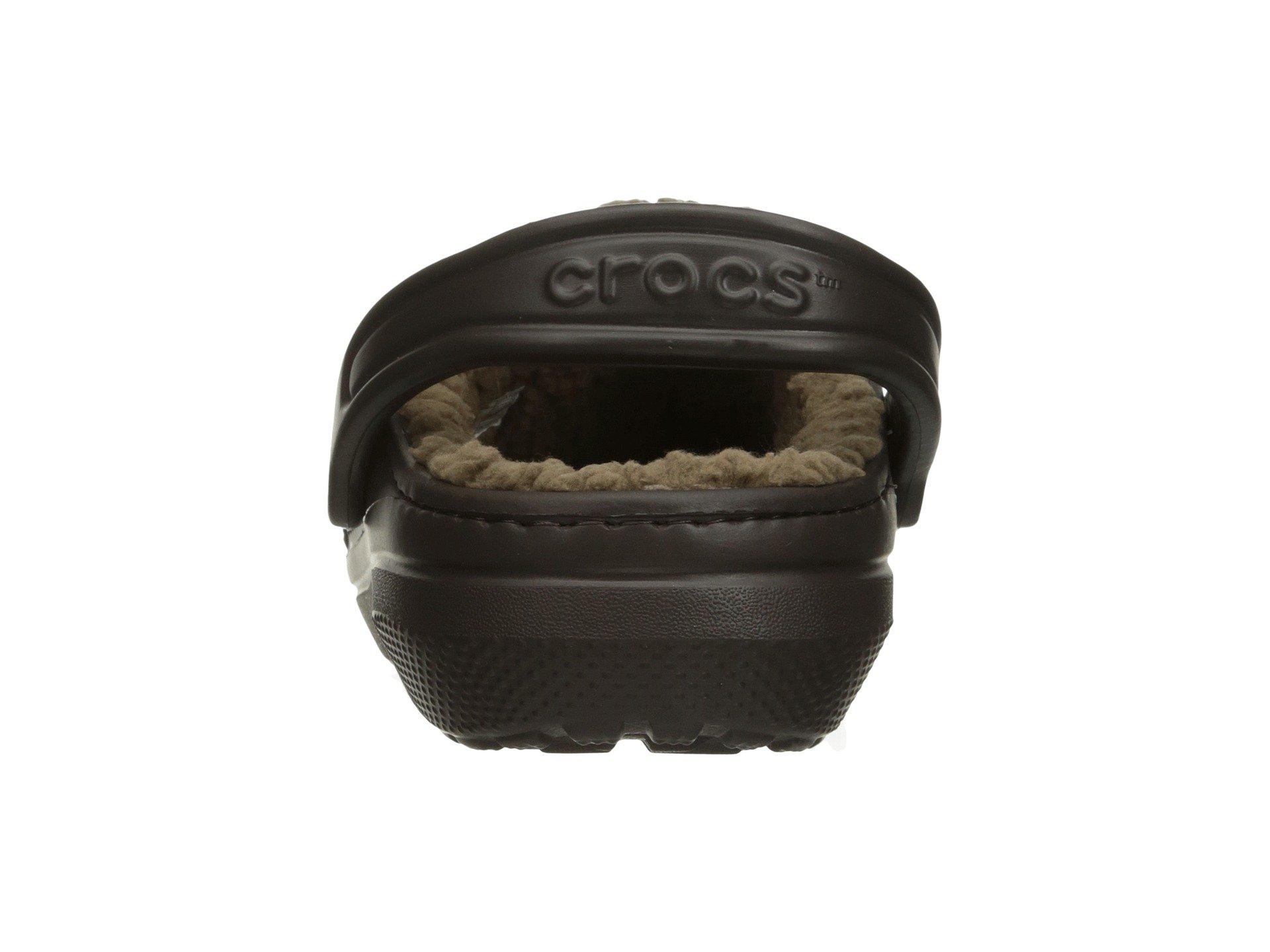 Classic Clog Crocs walnut Espresso Lined HwTSq6w