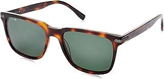 لاكوست نظارة شمسية عصرية شبه مربعة للرجال - اسود , L898S-218-56