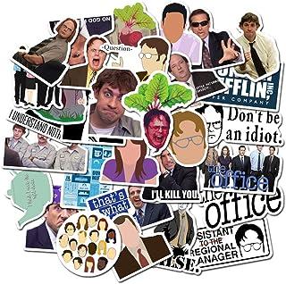 50Pcs/lot The Office TV Show Stickers Laptop Stickers Computer Vinyl Sticker for Snowboard Skateboard Car Bicycle Dirt-Bik...