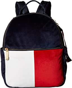 Isa Velvet Backpack