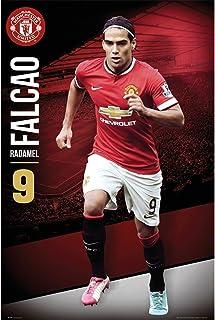 Manchester United マンチェスターユナイテッド 2014-15モデル ポスター ファルカオ 88 / SP1166...
