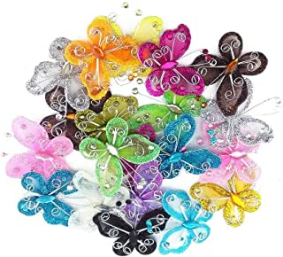 40-Pack Organza Butterflies 2